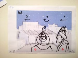 vignette du storyboard (plan n°17)