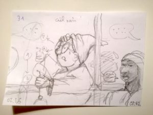 vignette du storyboard (plan n°31)